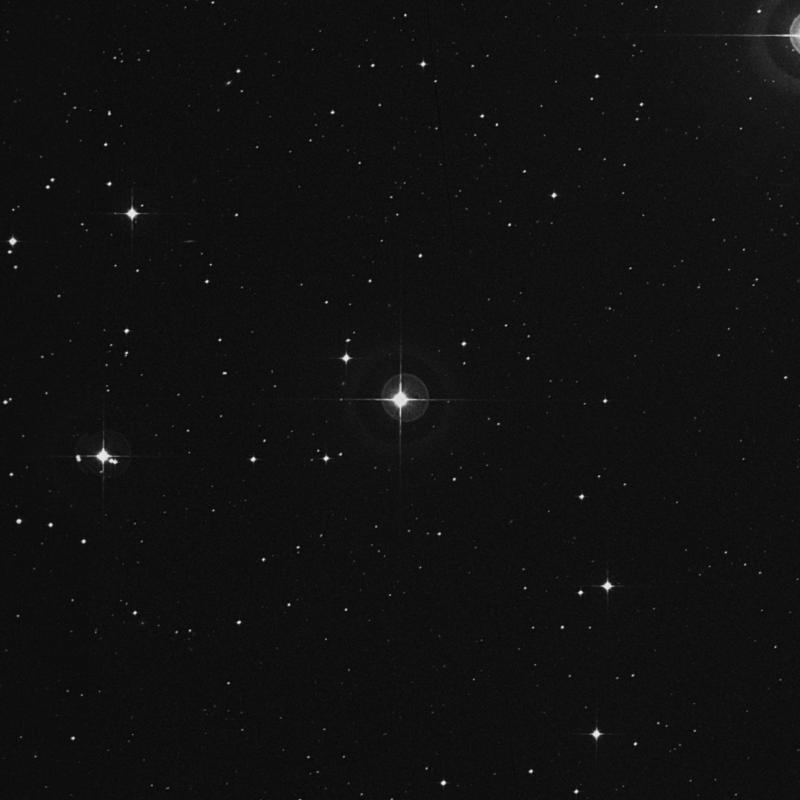 Image of 58 Aquarii star