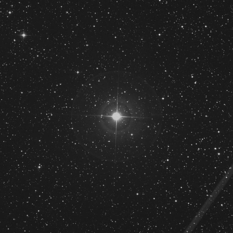 Image of 11 Lacertae star