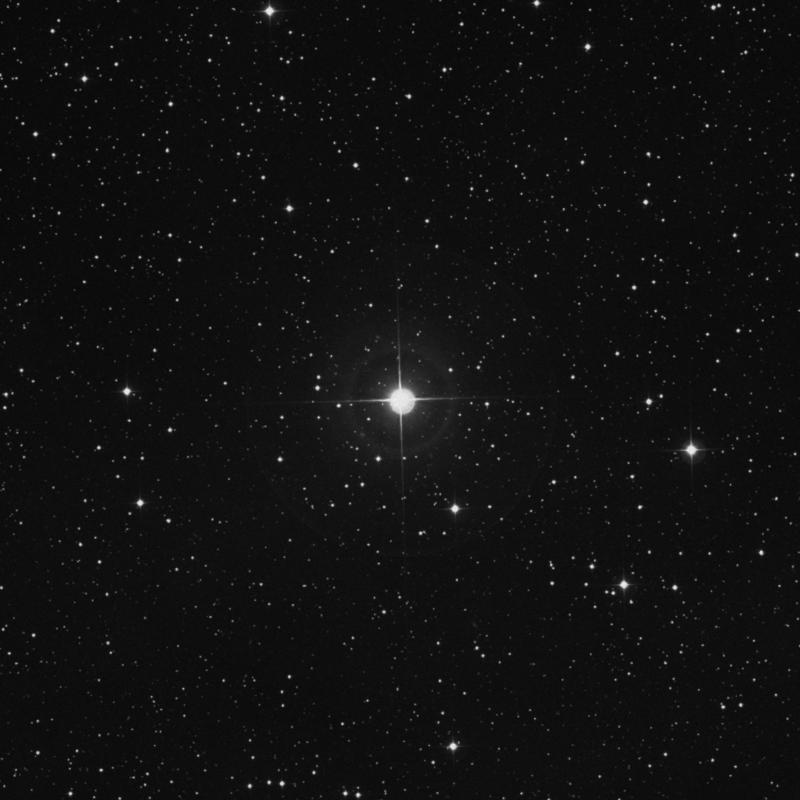 Image of 13 Lacertae star