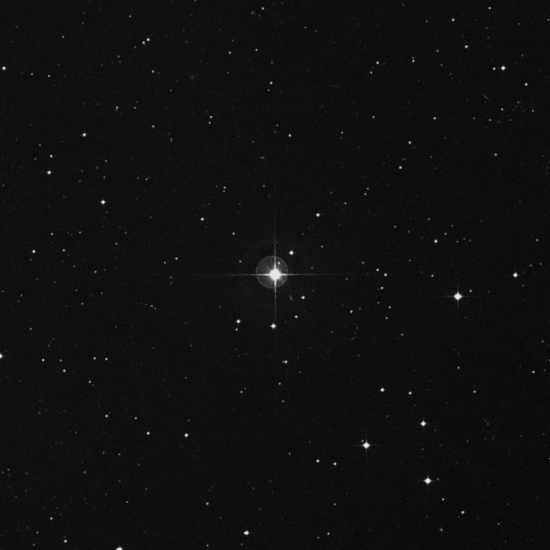 Image of 74 Aquarii star