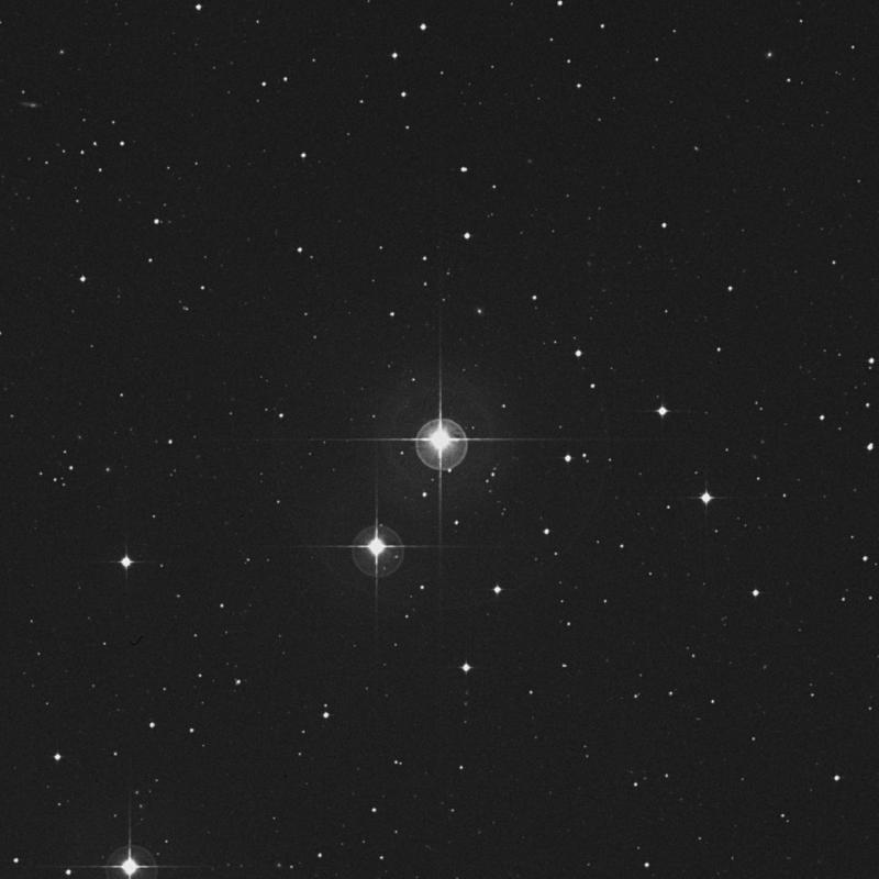 Image of 83 Aquarii star