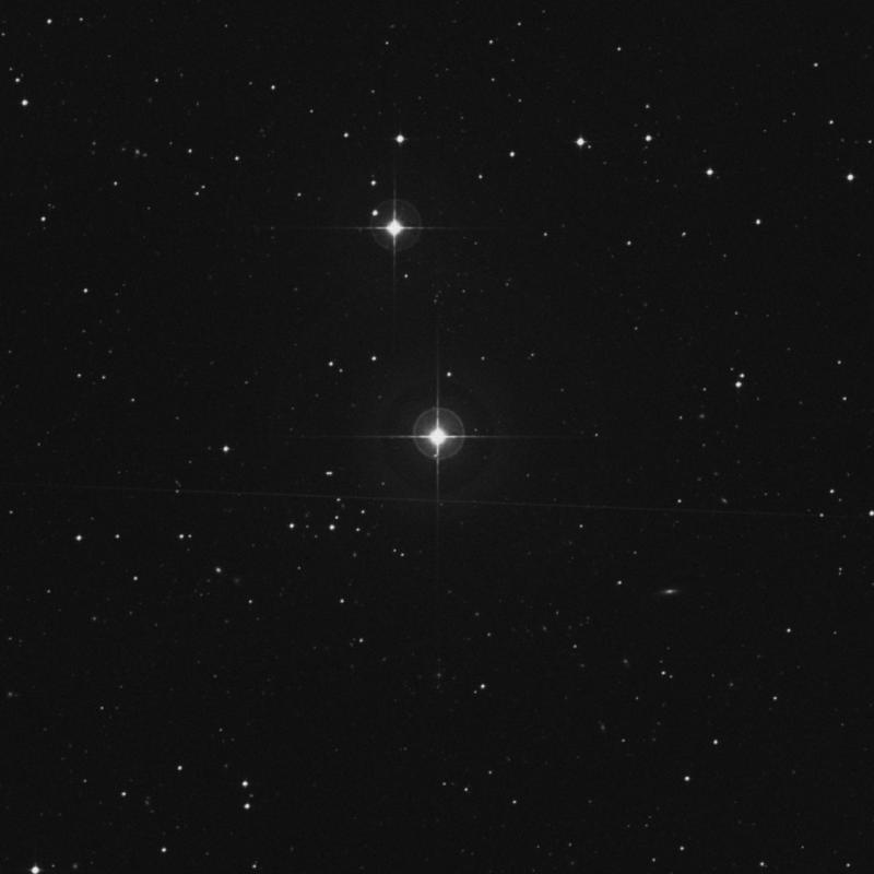 Image of 100 Aquarii star